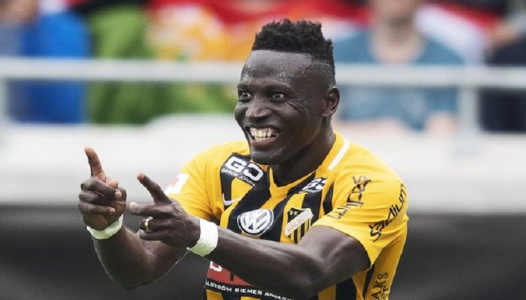 Breaking: Alhassan Kamara leaves BK Häcken by mutual consent