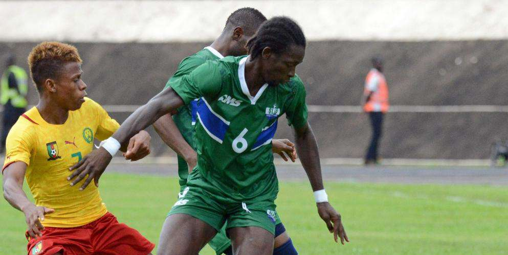 John Kamara upbeat about Sierra Leone's 2019 qualification
