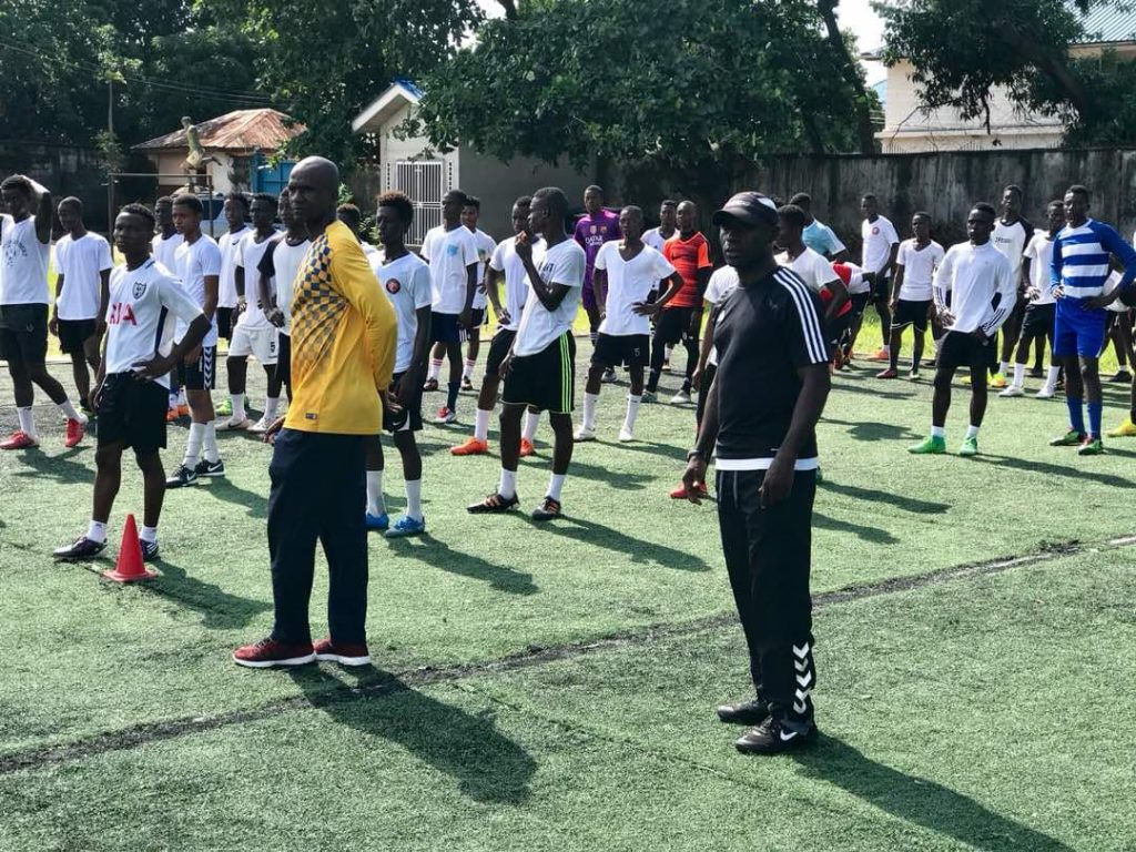 """""""The Sierra Leone Football Association, (SLFA) says newly appointed Coach Tito Cole will be assisted by former International Francis Zappa Koroma and Jeffrey Kabia as goalkeeping coach."""""""