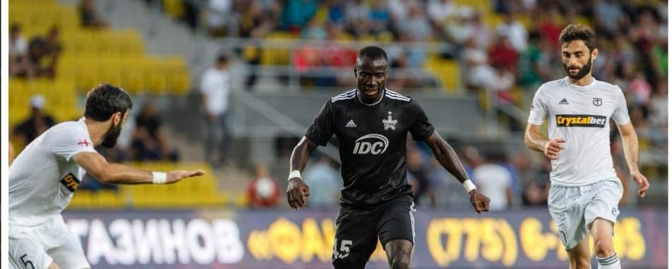 Kamara's Sheriff eliminated from Uefa Champions League