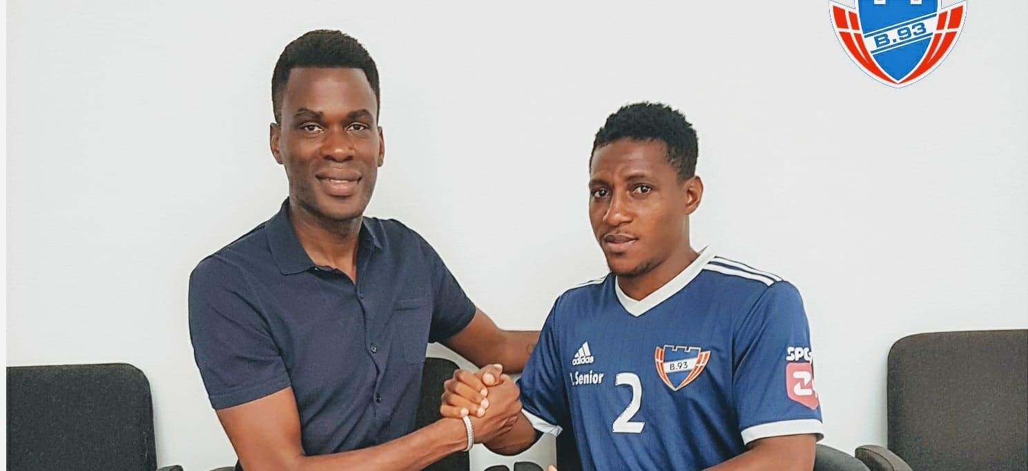 Breaking: Sierra Leonean defender Kemson signs for Danish side B93