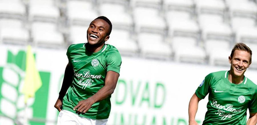 """Sierra Leone's Viborg FF striker Christian Moses happy with goalscoring form"""
