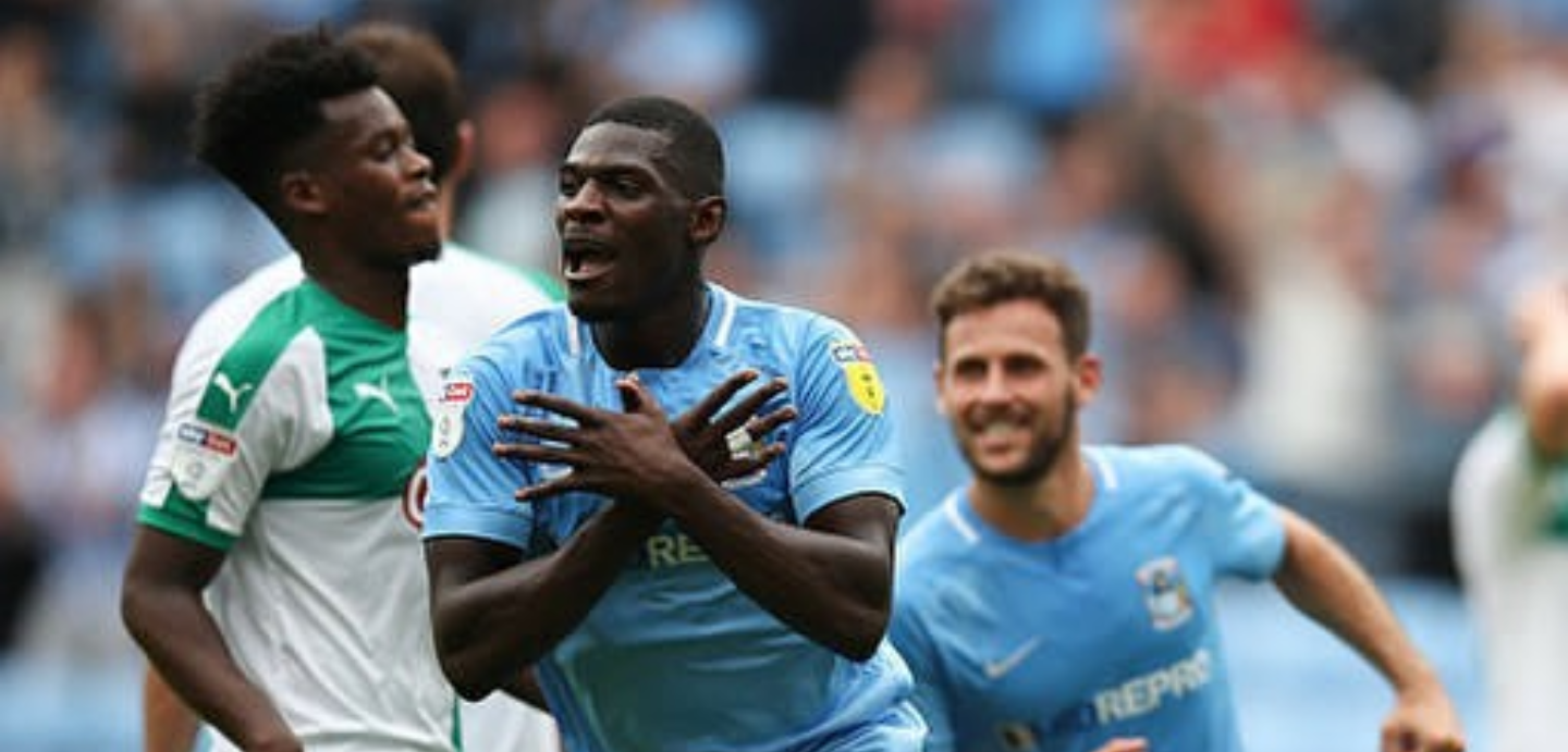 Amadou Bakayoko scores first Coventry City goal in win over Plymouth Argyle.