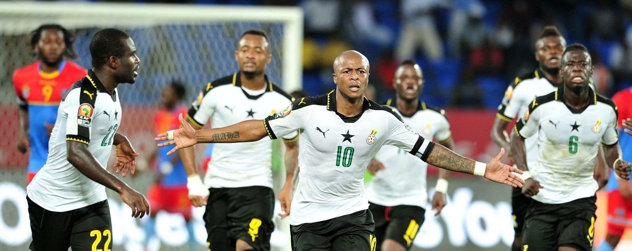 #AFCON2019: Ayew brothers out of Ghana squad for Sierra Leone doubleheader