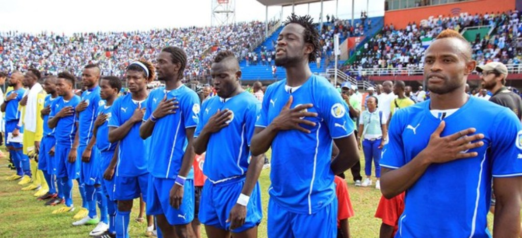 Sierra Leone at 115 in Fifa's latest world ranking
