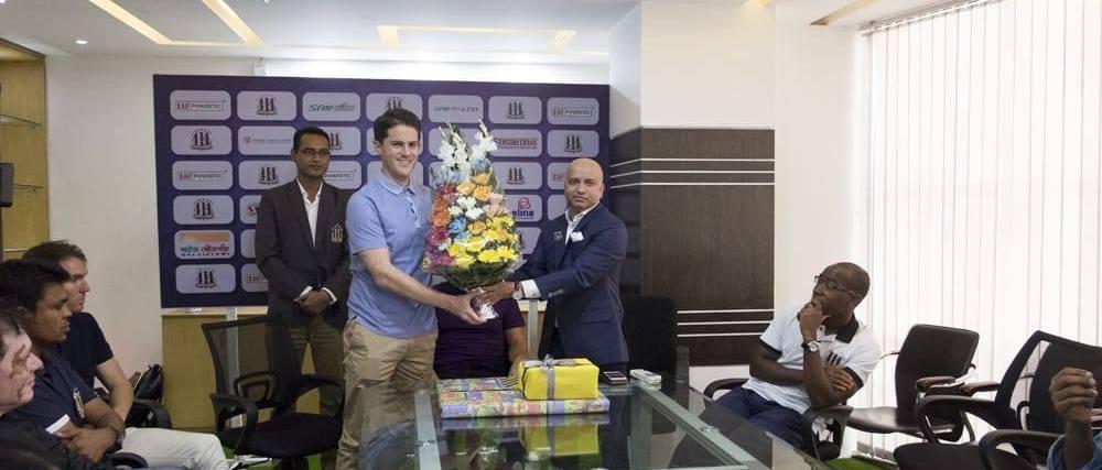 Ex-Sierra Leone coach Johnathan Mckinstry hired by Saif Sporting Club