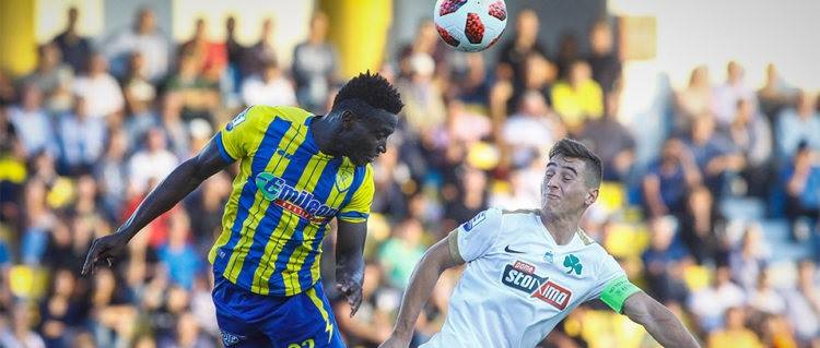 Panaitolikόs striker Alhassan Kamara suffers injury setback