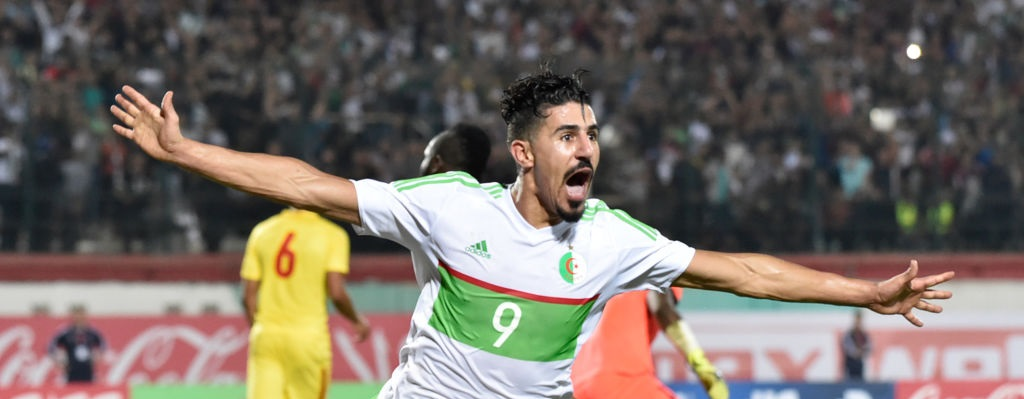Algerian striker Bounedjah extends stay at Al-Sadd until 2024
