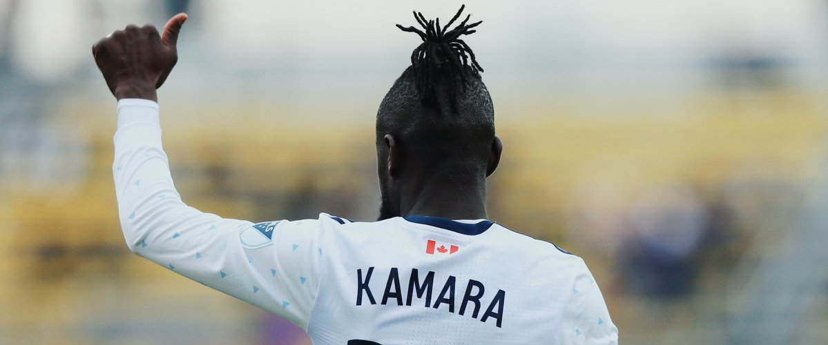 New Rapids goal-poacher Kamara up for the challenge
