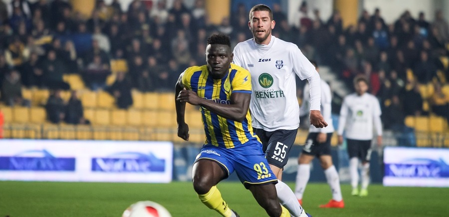 Panetolikos striker Alhassan Kamara facing five months out injured