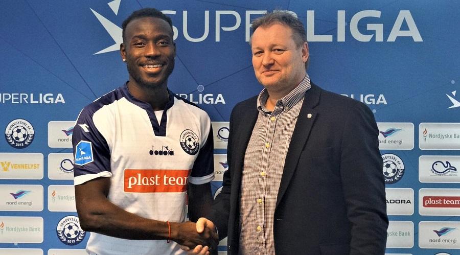 Sierra Leone's Alhaji Kamara happy with  Vendsyssel move