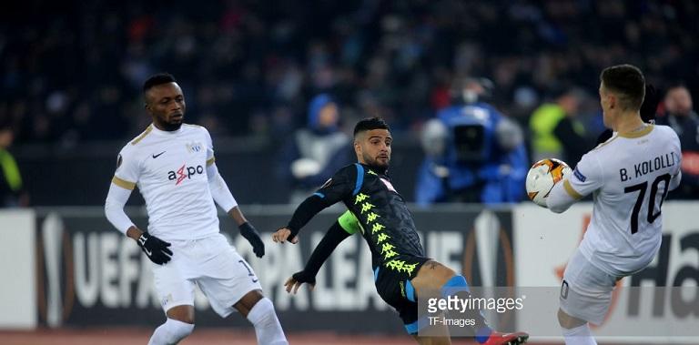 Europa League: Napoli ease past Bangura's Zurich