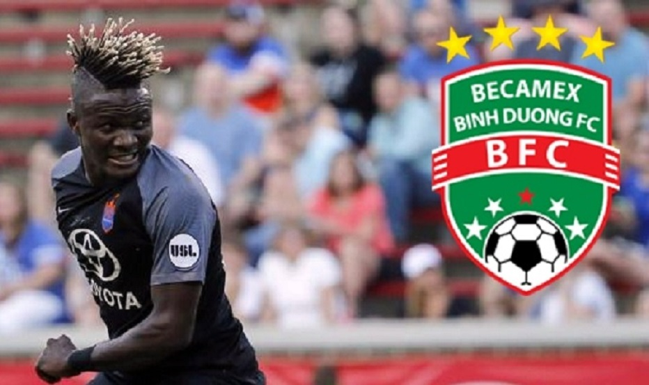 Victor Mansaray to make V- League debut with Becamex Binh Duong