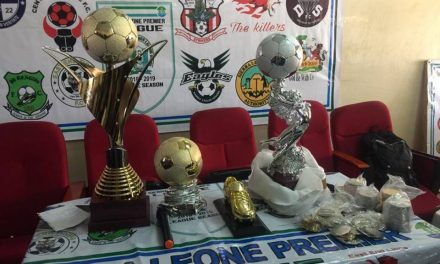 Sierra Leone Premier League unveils grand champions trophy