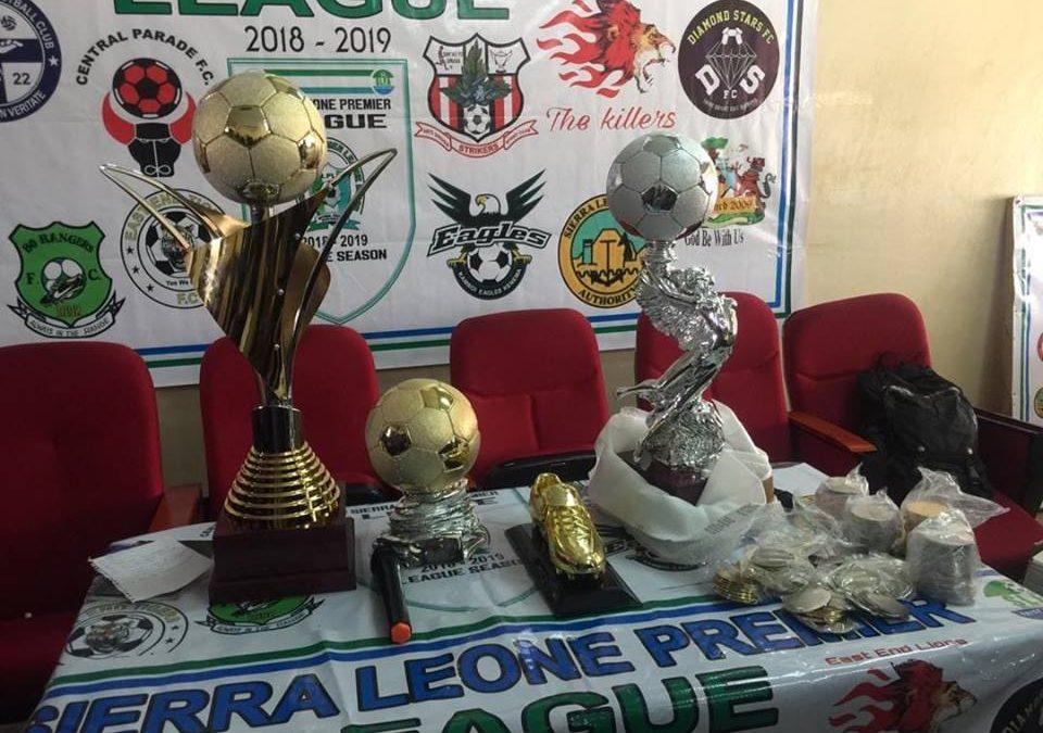Sierra Leone Premier League unveils grand champions trophy