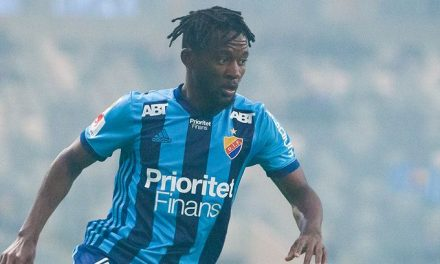 Striker Buya Turay scores in Semi-final defeat