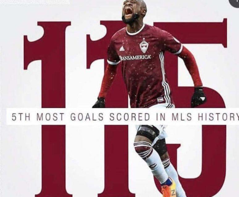 Kei Kamara becomes fifth player to score 115 MLS goals