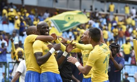 Sundowns ease past Al Ahly in CAF CL Quarter-final first leg