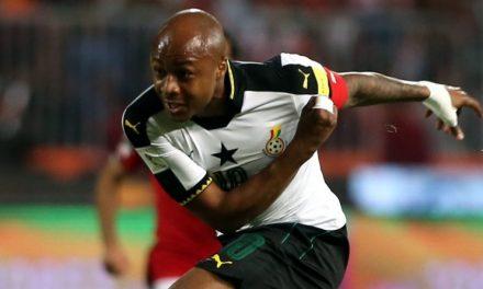Andre Ayew named Ghana Black Stars permanent captain