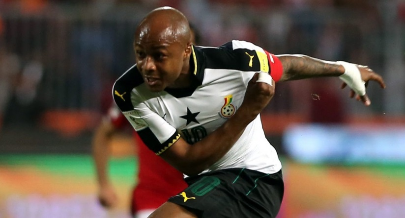 Andre Ayew named Ghana Black Stars permanent captain