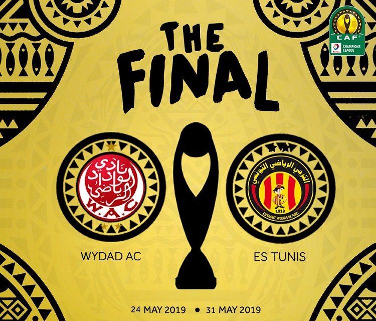 Esperance, Wydad in Champions League final