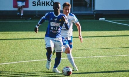 Midfielder Foday Conteh agrees new Vasa IFK contract