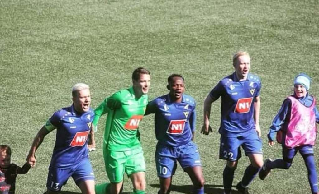 Víkingur Olafsvík midfielder Barrie pleased with impressive start
