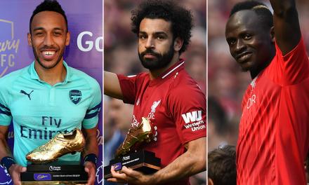 Three Africans share Premier League Golden Boot