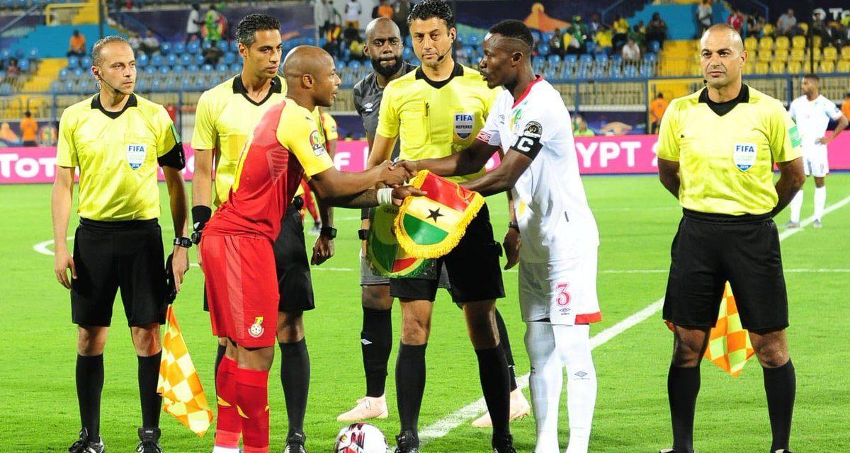 10-man Ghana Black Stars draw in AFCON opener