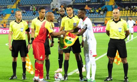 10-man Ghana Black Stars draw in AFCON opener