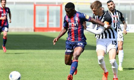 Kargbo pens first professional Crotone deal