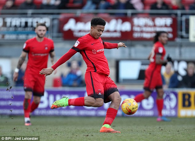 Koroma delighted to join Huddersfield from Leyton Orient