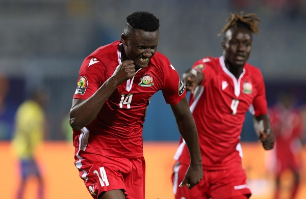 #AFCON2019: Olunga scores brace in Kenya's win over Tanzania