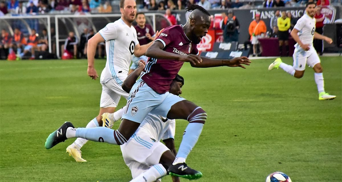 Rapids' striker Kamara named in MLS Team of the Week