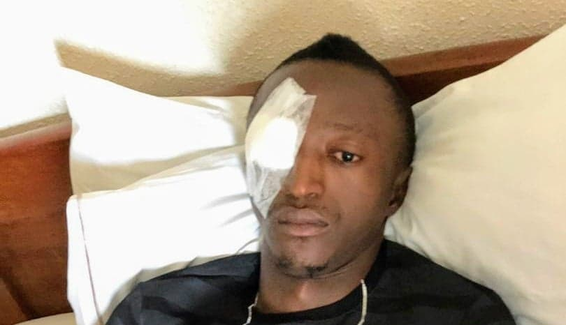 Edwards News: Abubakarr Sesay eye surgery successful