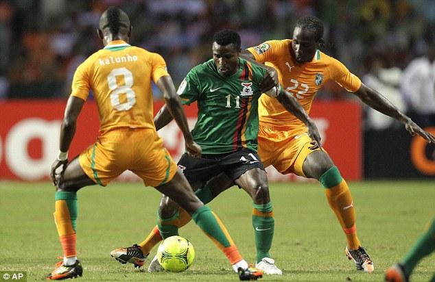 Ivory Coast thrash Zambia in Afcon warm-up