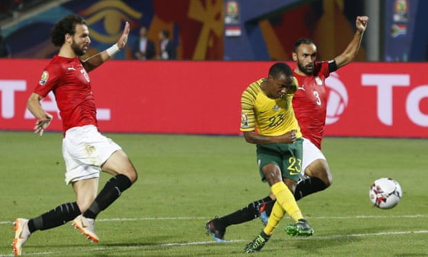 AFCON: South Africa face Nigeria after victory over Egypt