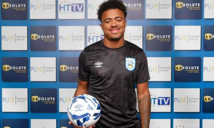 Josh Koroma happy after first Huddersfield Town goal
