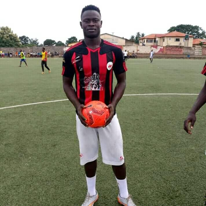 Musa Noah Kamara on loan to Sierra Leone Champions East End Lions Lions has scored 15 goals this season.