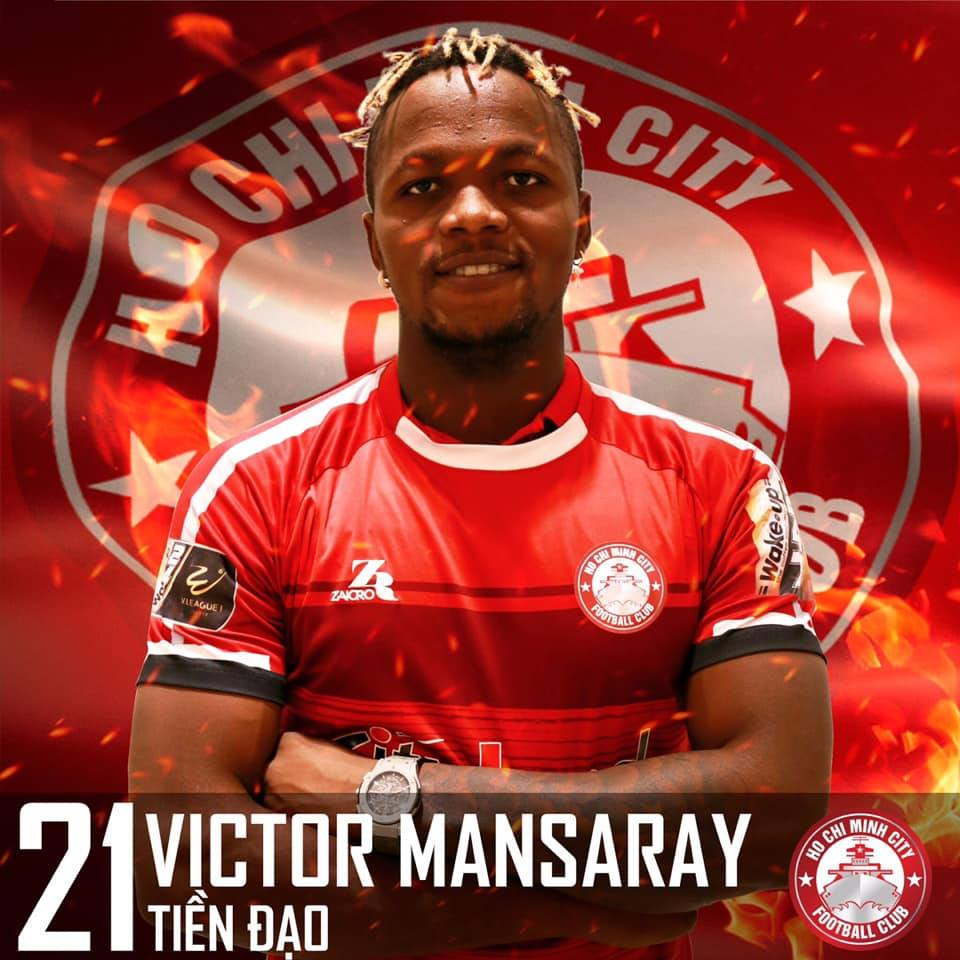 Welcome to our club Victor Mansaray