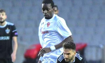 John Kamara ready for new Topaz Premier season