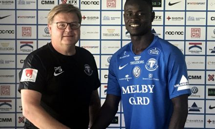 Swedish Superettan side Trelleborgs FF sign Musa Tombo