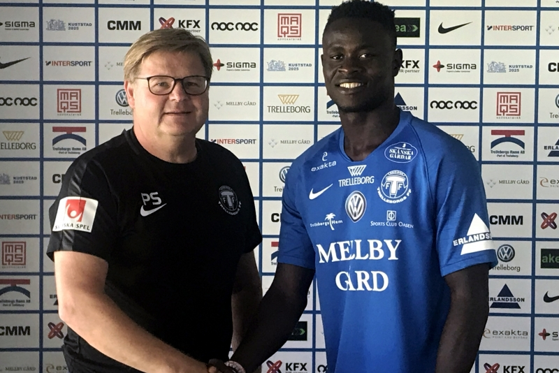 Swedish Superettan side Trelleborgs FF sign Musa Tombo
