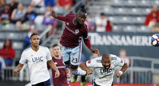 Second career hat-trick for Colorado Rapids' Kei Kamara