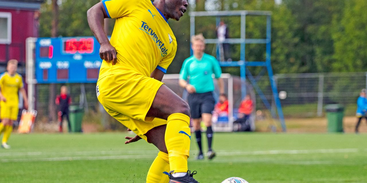 Three goals in three games for Abdul Sesay in Finland