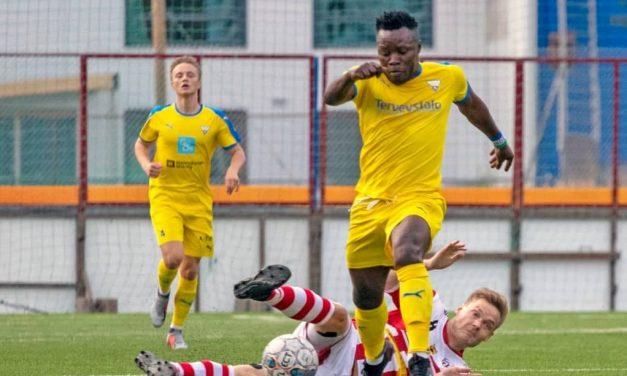 Abdul Sesay scores brace in OLS Oulu's defeat