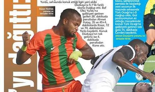 Defender Simbo happy to make Baf Ülkü Yurdu winning debut
