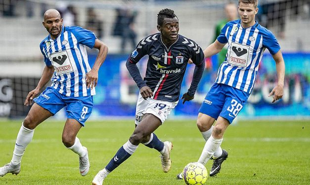 Striker Bundu takes tally to five in Danish Superliga
