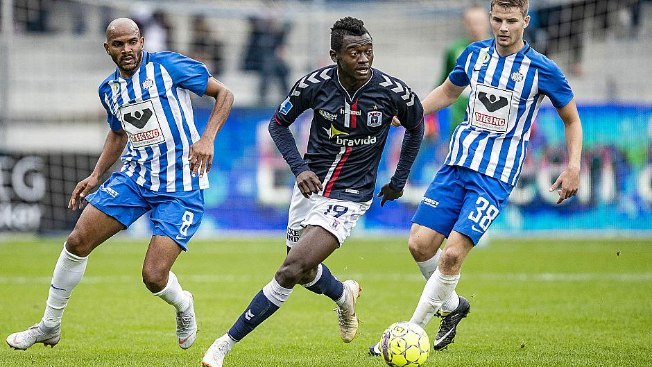 Striker Bundu takes tally to five in Danish Superliga