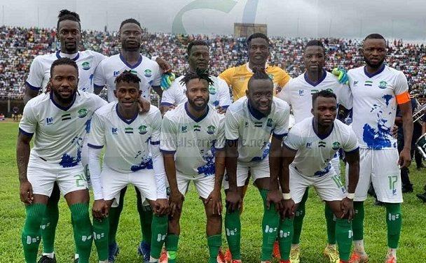 Sierra Leone down three places in latest Fifa ranking